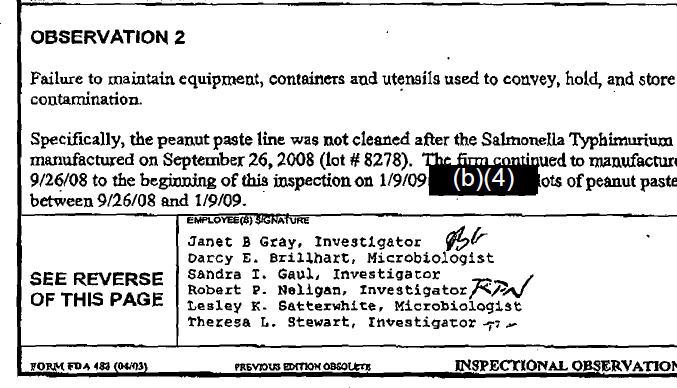 Salmonella report 02.11.09