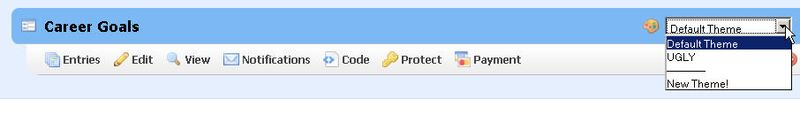 Select theme 06.25.09