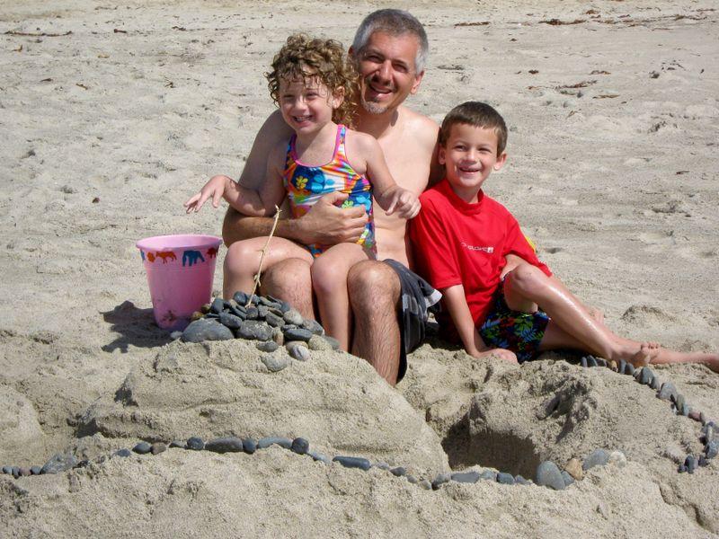 Sand fort 10.27.09