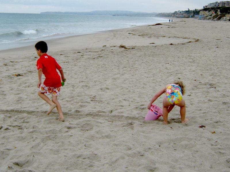 Beach fun 10.27.09